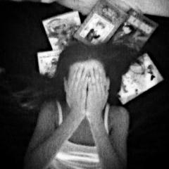 people photography selfmade black & white manga