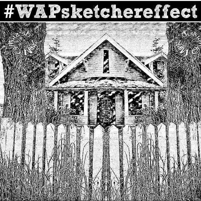 Enter the sketcher effect weekend art project for Weekend art projects