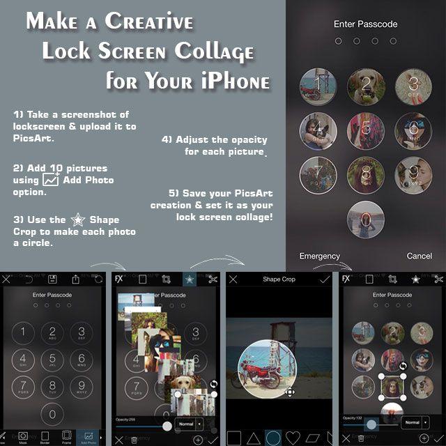 iphone lock screen tutorial