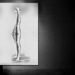 art black & white drawing