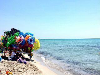 beach colorful nature photography puglia