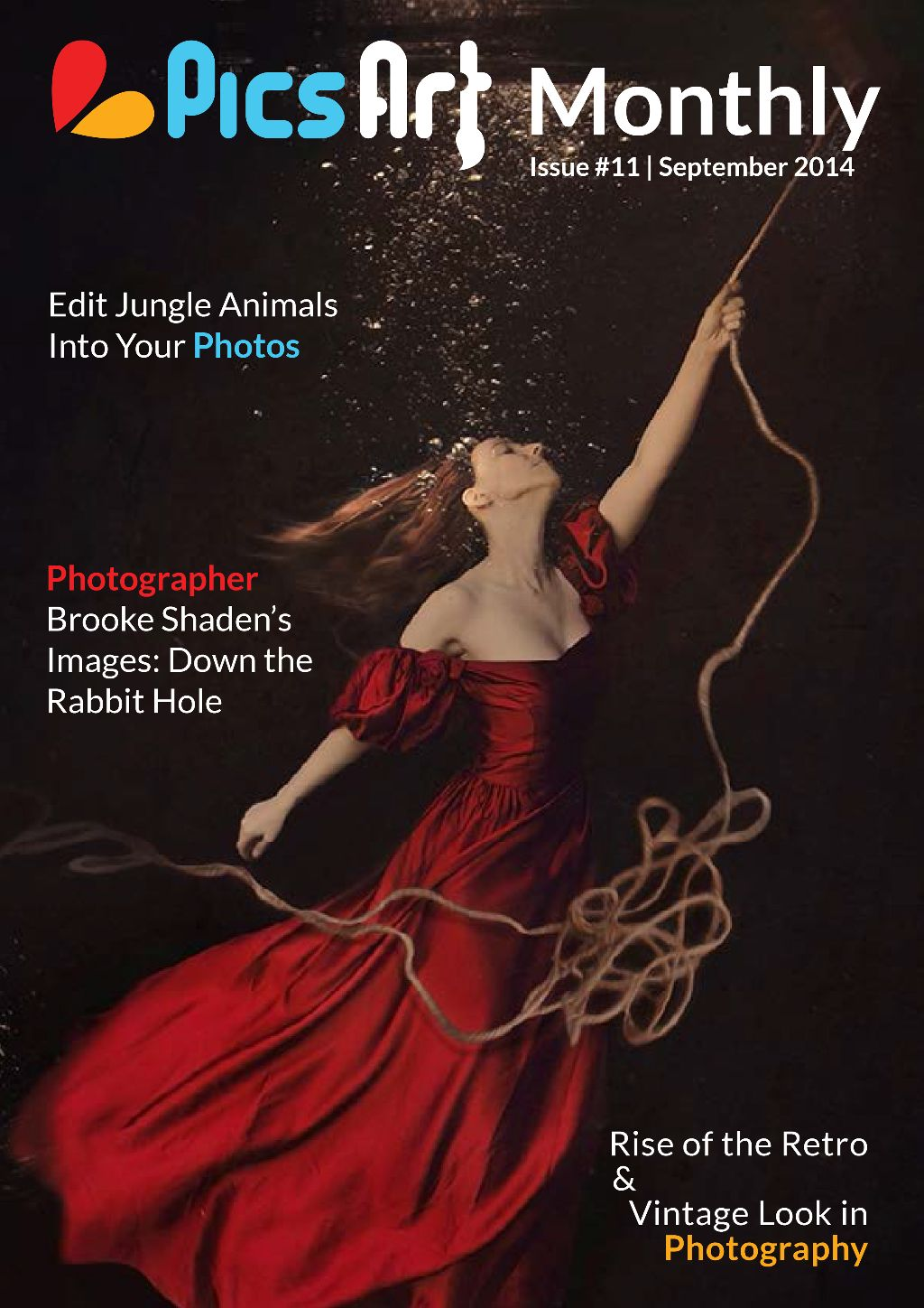 September Issue of PicsArt Monthly Art Magazine