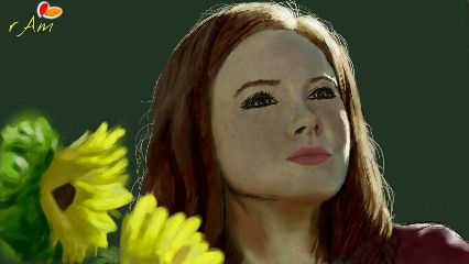dcsunflowers nature drawings doctor who amy pond