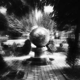 earth black & white radial blur nature