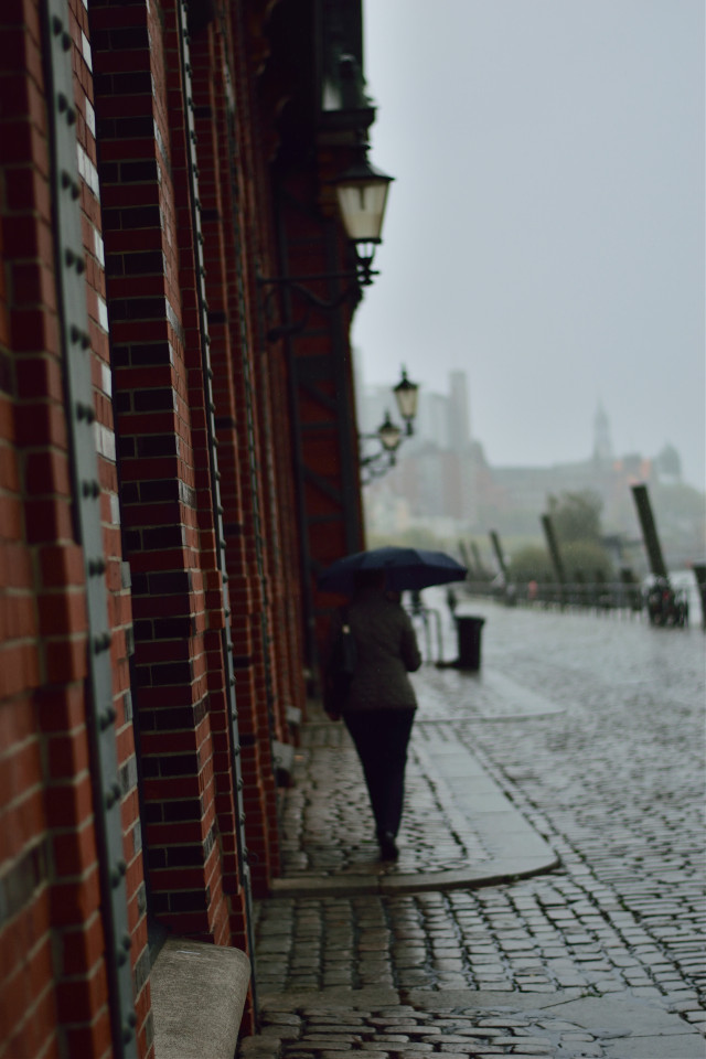 weather right now #harvest #byebyesummer #people #rain #photography #urban