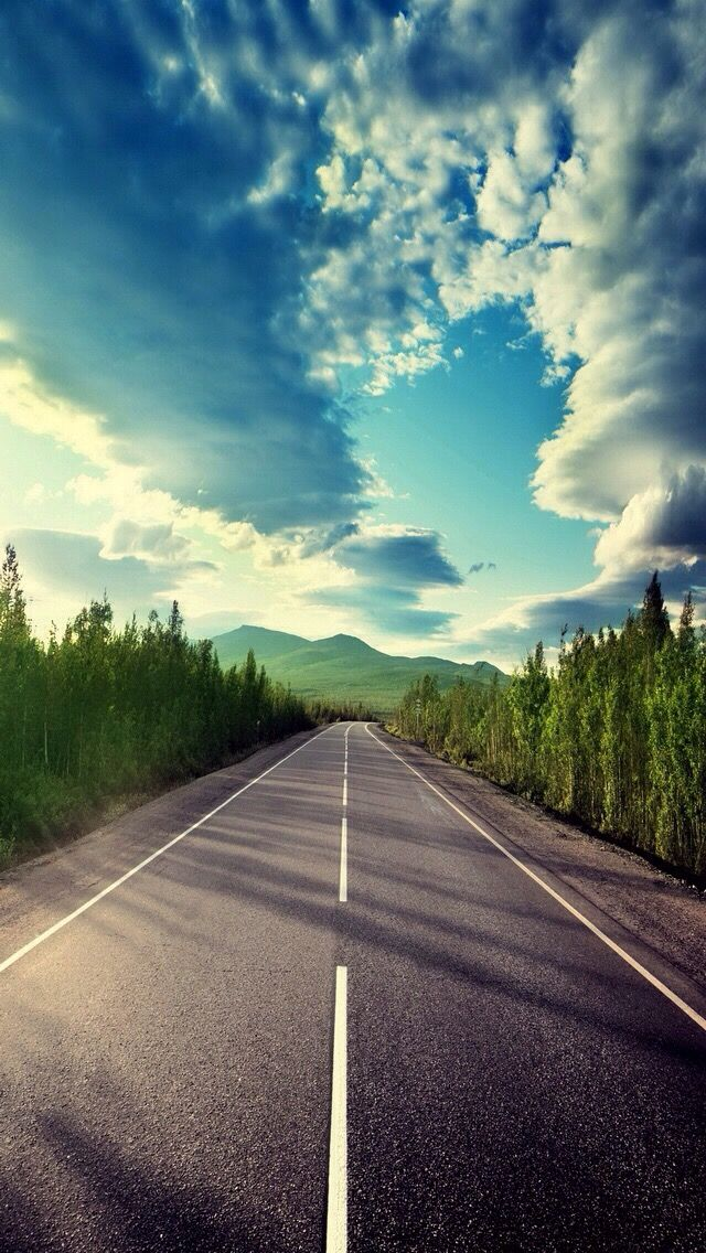 Road Nature Wallpaper Photography