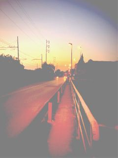 wapfilmeffect landscape sunset sun photography