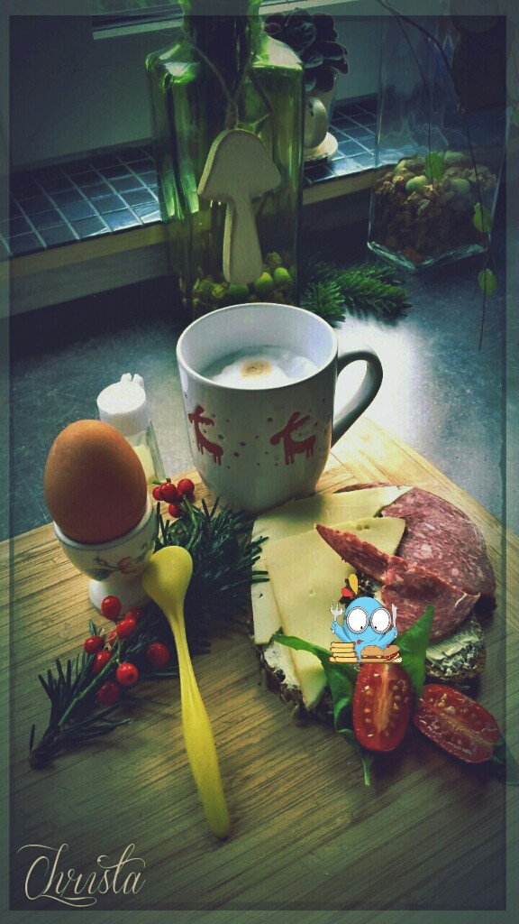 I do not like to own breakfast  ...  #breakfast #photography #emotions #winter #yummyfood #food