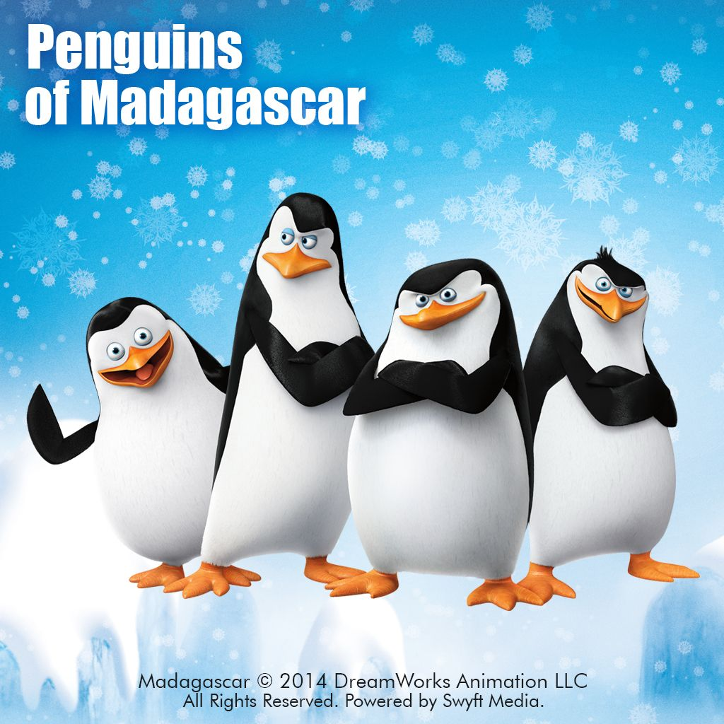 penguins of madagascar clipart package