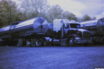 infrared photography truck