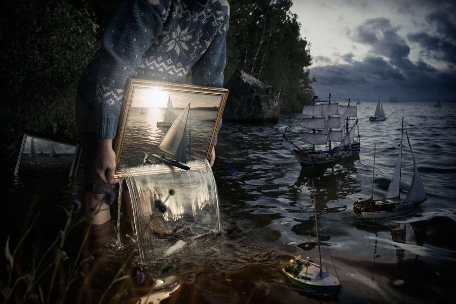 Erik Johansson's creative photography
