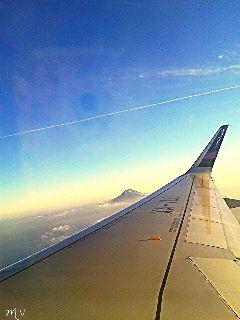 travel sky blue