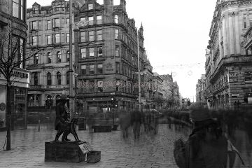 glasgow scotland blackandwhite photography