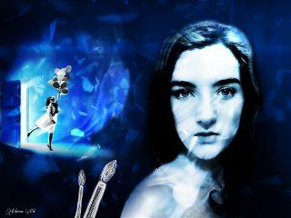gdmeandmyart artisticselfie door imagination shapemask