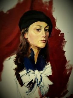 art drawing painting pencilart portrait